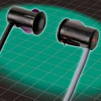 Plug-In Through-Beam Sensors offer sensing range up to 8 m.