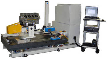 Automated CNC Measuring System handles large, complex parts.