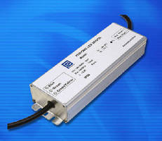 AC/DC LED Drivers suit street and parking area lighting.