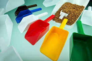 Food Grade HDPE Scoops suit bulk handling and dosage applications.