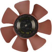 Motorized Axial Fan suits limited-space applications.