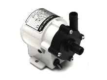 Magnetic Drive Pump has inert flow path and long life.