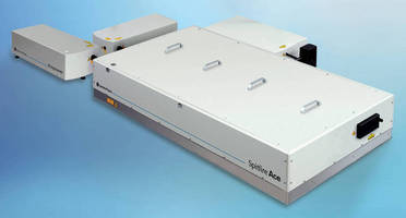 Ultrafast Power Amp, IR OPO are designed for stability.