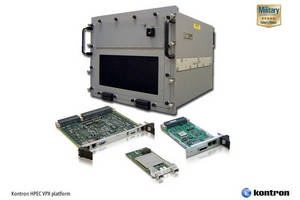 Kontron HPEC Platform Chosen by Military Embedded Systems Magazine for Editor's Choice Award