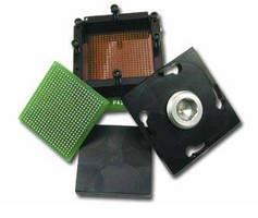 QFN Socket supports 12 x 12 mm devices with 0.5 mm pitch.