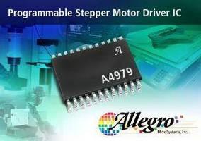 Stepper Motor Driver IC offers programmability, diagnostics.