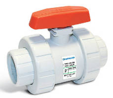 Ball Valves feature platinum GF-PP construction.