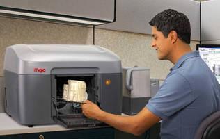 Desktop 3D Printer delivers fine feature detail.
