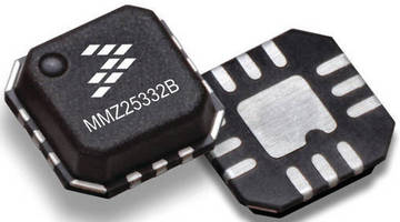 Richardson RFPD Introduces Pair of inGaP HBT Amplifiers from Freescale