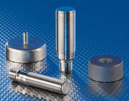 Magnetic Inductive Proximity Sensors offer ranges to 70 mm.