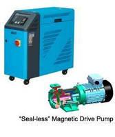 Portable Hot Oil Unit has magnetic drive pump.