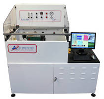 Automated Selective Soldering Machine processes 12 x 12 in. PCBs.