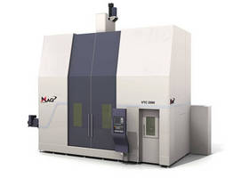 MAG Vertical Turning Centers Increase Versatility with New Option for Coromant Capto® C8 Tooling System