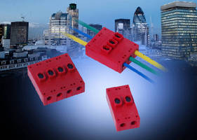 Wire-to-Wire Connectors suit junction box applications.