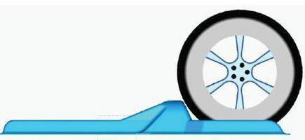 Wheel Chock is reusable for intermodal auto shipments.