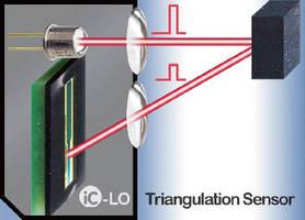 Triangulation Position Sensor features ambient light suppression.