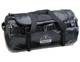 Water-Resistant Duffel Bag withstands harsh environments.