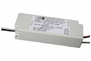 AC/DC Power Supply drives dimmable LEDs.