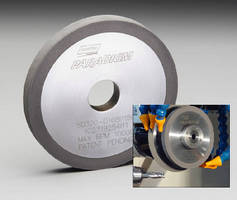 Diamond and CBN Wheels grind round tool fluting.