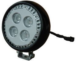 Vehicle-Mount LED Light produces 3,600 lm and draws 4 A.