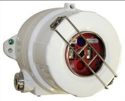 Flame Detector monitors entire flame spectrum to verify alarms.
