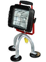 Quartz Halogen Work Light features magnetic mount base.