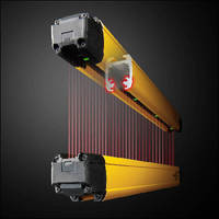 Safety Light Curtain is sealed to IP65 and IP67 ratings.