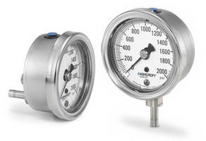Ashcroft® Stainless Steel Pressure Gauge Now Available with Tubing Connection