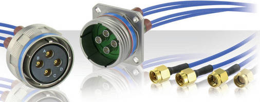RF BMA Coaxial Contacts offer dual-level EMI protection.
