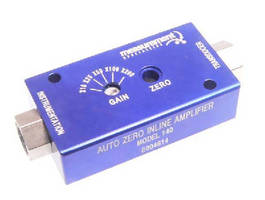 Remote In-Line DC Amplifier includes auto-zero function.