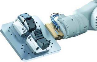 VERO S NSR: Space Saving Robot Coupling for Pallet Handling