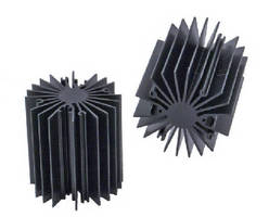 Radial-Fin Heat Sink Extrusions target LED light engines.