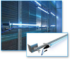 UV Light Rack System provides microbial disinfection.