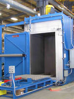 Draw Batch Oven Used for Stress Relieving Stainless Steel Shafts for Turbines