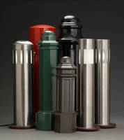 Bollards Available with Customizable Colors, Finishes, Domes, Lighting Sources and Lighting Fixtures