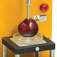 Universal Texture Analyzer tests irregular items.