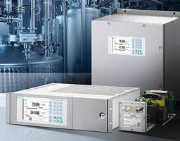 Modular Extractive Gas Analyzer supports small range selection.