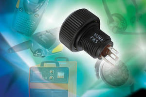 Panel Potentiometer allows easy access to controls.