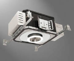 LED Recessed Luminaire features Zhaga certification.
