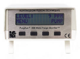 Weld Purge Monitors measure oxygen down to 10 ppm.