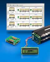 Battery Controller Modules regulate 1-32 Li-Ion battery packs.
