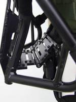 Backpack Carrier lightens tactical, ballistic gear load.