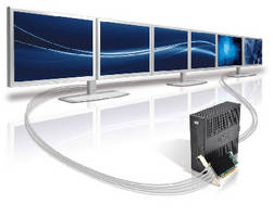 Graphics Cards support up to 6 displays from single system.