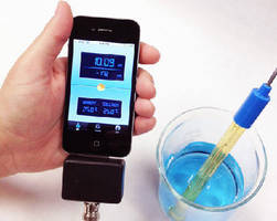 pH Meter Accessory operates with iPhone® or iPod®.