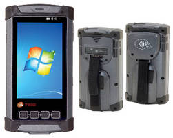 Rugged PDA offers mobile payment and cellular capabilities.