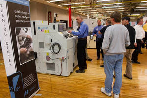 Hardinge Hosts Highly Attended Machine Technology Show in Elmira, New York