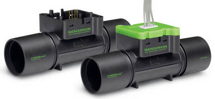 Digital Mass Flow Meter has low pressure drop design.