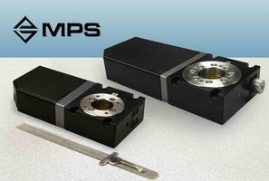 MPS-GR Miniature, Gear-Drive Rotary Stages for Tight Spaces