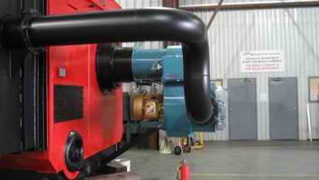 Webster Engineering HDS Burners for Watertube Applications