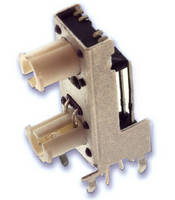 Tact Switch offers dual stacked LED illumination.